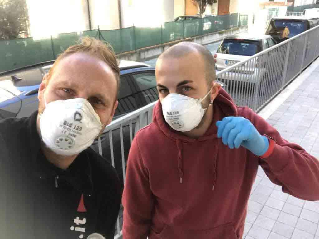 Daniele e Mauro in sicurezza