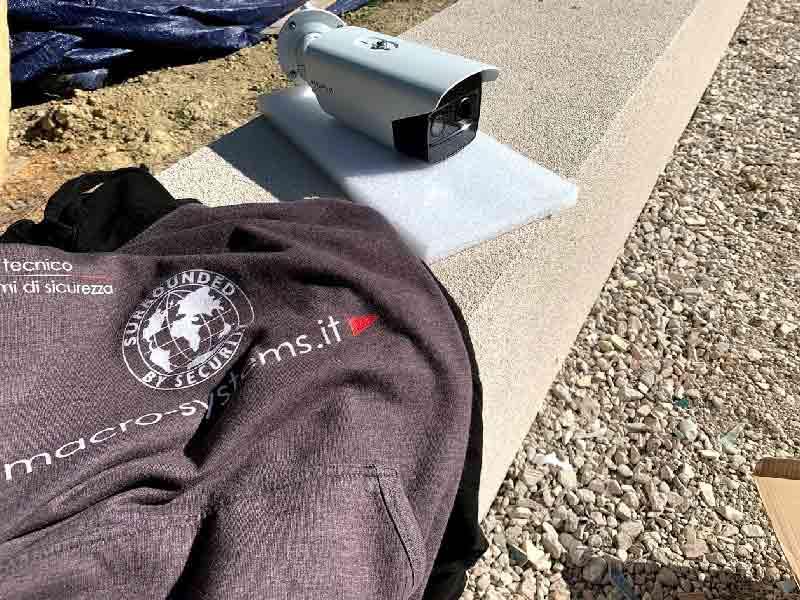 Installazione telecamera termica